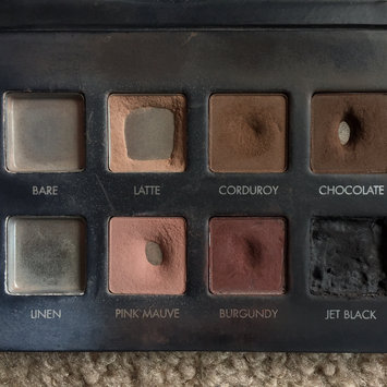Photo of LORAC PRO Matte Eye Shadow Palette (Chocolate/Red/Latte) uploaded by Kasey H.