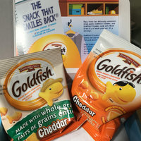 Goldfish® Cheddar Baked Snack Crackers Made With Whole Grain uploaded by Michelle L.