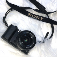 Sony Alpha (ILCE-5100L/W ILCE-5100LW ILCE-5100) 24MP 16-50mm Interchangeable Lens Camera with 3-Inch LCD (White) + Sony uploaded by Magdalena O.