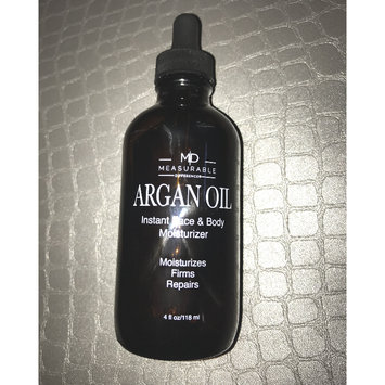 Photo of Bbeautiful Llc Measurable Difference Argan Oil Instant Face & Body Moisturizer, 4 fl oz uploaded by Dalila C.