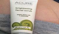 Acure Brightening Facial Scrub uploaded by Jaclyn R.