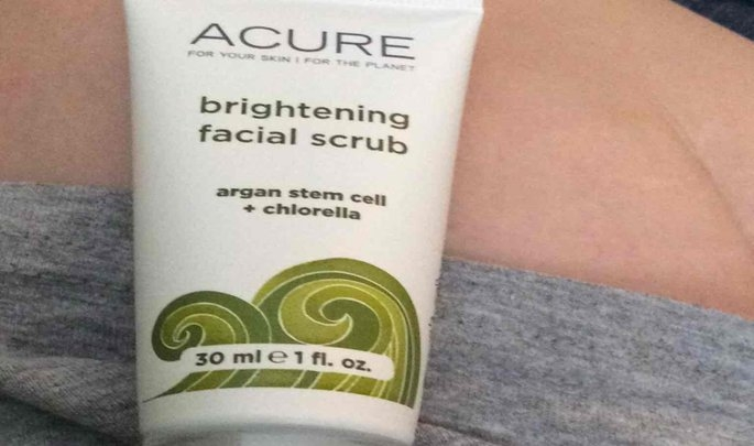 Acure Brightening Facial Scrub uploaded by Jaclyn R.