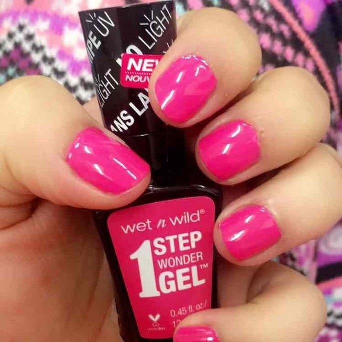 Wet 'n' Wild Wet n Wild 1 Step Wonder Gel Nail Color, Missy in Pink, .45 oz uploaded by Bridgette T.
