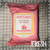 Burt's Bees Facial Cleansing Towelettes Pink Grapefruit uploaded by member-21a3a