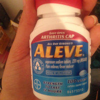 Aleve Tablets with Easy Open Arthritis Cap uploaded by Katherine J.