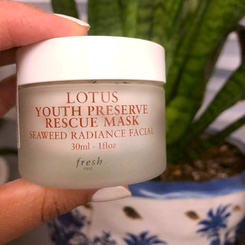 Photo of fresh Lotus Youth Preserve Rescue Mask uploaded by Alicia L.
