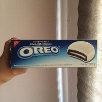 Nabisco Oreo Sandwich Cookies White Fudge uploaded by Erika J.
