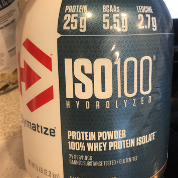 Photo of Dymatize Iso-100 Fudge Brownie - 5 lbs (2263g) uploaded by Gabriela P.