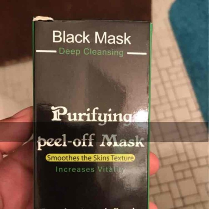 Genuine by Tarad Siam PILATEN blackhead remover,Tearing style Deep Cleansing purifying peel off the Black head,acne treatment,black mud face mask 60g uploaded by Elizabeth T.