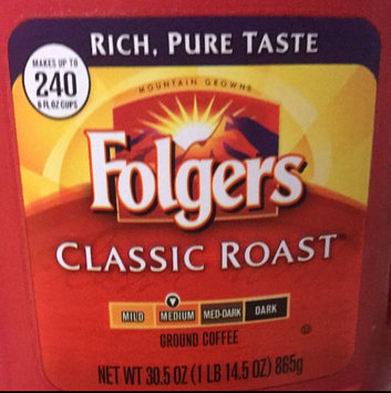 Photo of Folgers Coffee Classic Roast uploaded by Melaney M.