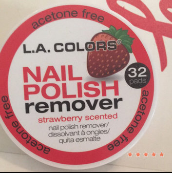 Photo of L.A. Colors Nail Polish Remover Pads uploaded by Yasmin R.