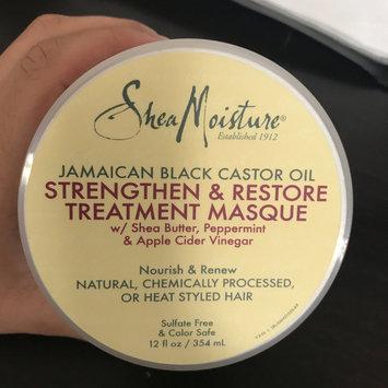 Photo of SheaMoisture Jamaican Black Castor Oil Strengthen, Grow & Restore Treatment Masque w/ Shea Butter, Peppermint & Keratin uploaded by Monica S.