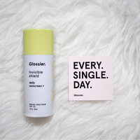 Glossier Invisible Shield SPF 35 Daily Sunscreen + uploaded by Stephanie B.
