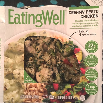 Photo of Eating Well™ Creamy Pesto Chicken 10 oz. Box uploaded by Dianne R.