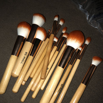 Photo of BS-MALL(TM) Premium Synthetic Kabuki Makeup Brush Set Cosmetics Foundation Blending Blush Eyeliner Face Powder Brush Makeup Brush Kit uploaded by Jackeline C.
