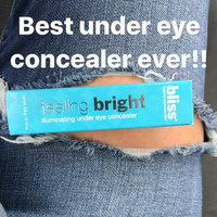 Bliss Color Feeling Bright Illuminating Under Eye Concealer uploaded by Valerie d.