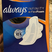 Always Infinity Size 4 Overnight Pads with Wings Unscented uploaded by Mae A.