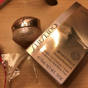 Photo of Shiseido Benefiance WrinkleResist24 Intensive Eye Contour Cream uploaded by Carrie L.