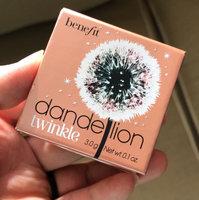 Benefit Cosmetics Dandelion Twinkle uploaded by Kat X.