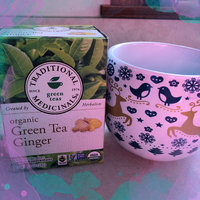 Traditional Medicinals Green Tea with Ginger Tea Bags uploaded by Bryn H.