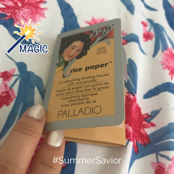 Palladio Rice Paper Powdered Blotting Tissues uploaded by Lily W.
