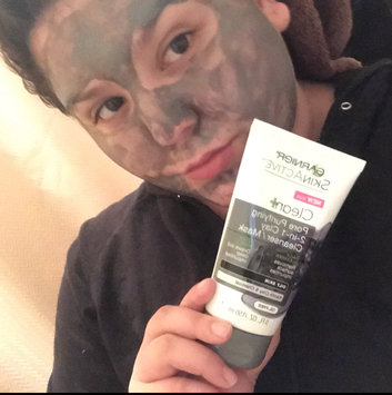 Garnier® SkinActive™ Clean+ Pore Purifying 2-in-1 Clay Cleanser/Mask for Oily Skin 5 fl. oz. Tube uploaded by Alexandria V.