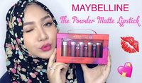 Maybelline Eye Studio® Color Molten™ Eyeshadow uploaded by Zhalya O.