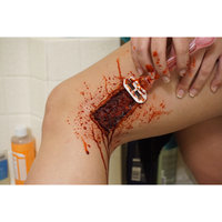 3rd Degree Silicone Molding Compound Wound Scar Prosthetic SFX Simulation uploaded by Kylie B.