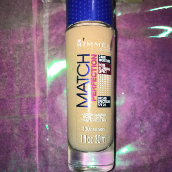 Photo of Rimmel London Match Perfection Foundation uploaded by Kassidy L.