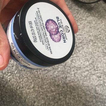 Photo of The Body Shop Blue Corn 3 in 1 Deep Cleansing Scrub Mask uploaded by Holly J.