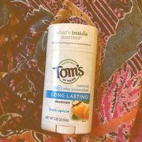 Tom's OF MAINE ANTIPERSPIRANT & DEODORANT Fresh Apricot Long Lasting Deodorant uploaded by Rachel R.