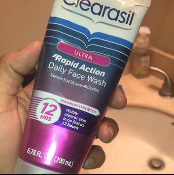 Clearasil Ultra Daily Face Wash Acne Medication uploaded by Athena G.