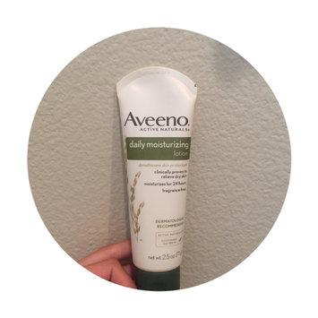 Photo of Aveeno® Daily Moisturizing Lotion uploaded by Sarah A.