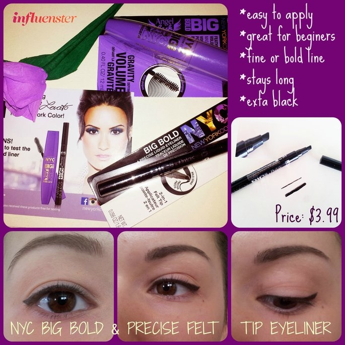 NYC Big Bold & Precise Felt Tip Liner uploaded by Veronica T.