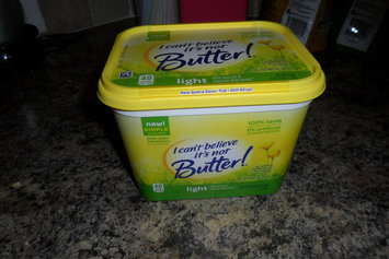 Photo of I Can't Believe It's Not Butter! Light 30% Vegetable Oil Spread uploaded by rebecca B.