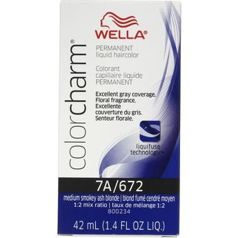 Photo of Wella Color Charm Liquid Haircolor 672 Med Smokey Ash Blonde 1.4 oz uploaded by M S.