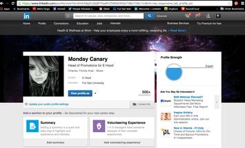 Photo of LinkedIn uploaded by Monday C.