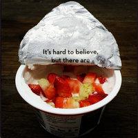 Chobani Non-Fat Strawberry on the Bottom Greek Yogurt 5.3 oz uploaded by Julie L.