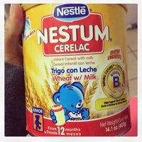 Nestlé® Nestum® Cerelac® Wheat Infant Cereal with Milk 14.1 oz. Canister uploaded by Melissa R.