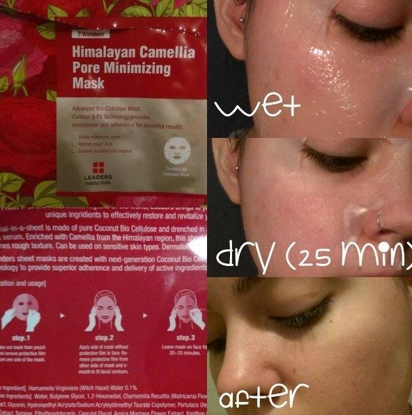 Leaders 7 Wonders Himalayan Camellia Pore Minimizing Sheet Mask uploaded by Melissa M.