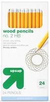 up & up Wood Barrel 24ct no.2 Pencils uploaded by Evanyelia K.