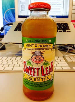 Sweet Leaf Mint & Honey Green Tea Tea image uploaded by Ana M.