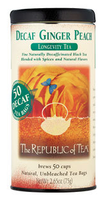 Republic of Tea Ginger Peach Decaf Tea Bag 50 Count uploaded by Jess L.