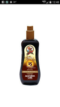 Australian Gold Spray Gel with Instant Bronzer SPF 15 uploaded by Wendy H.