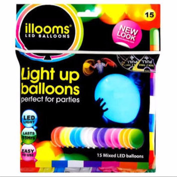 Photo of Illooms Light Up Balloons Mixed Colors 15 Pack uploaded by Sthefany Cristine d.