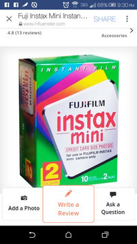 Fuji Instax Mini Instant Color Film Twin Pack - 15060835 uploaded by Tomara S.
