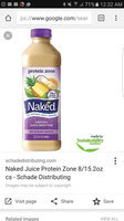 Naked Protein Zone All Natural Protein Juice Smoothie Mango uploaded by Stacey D.