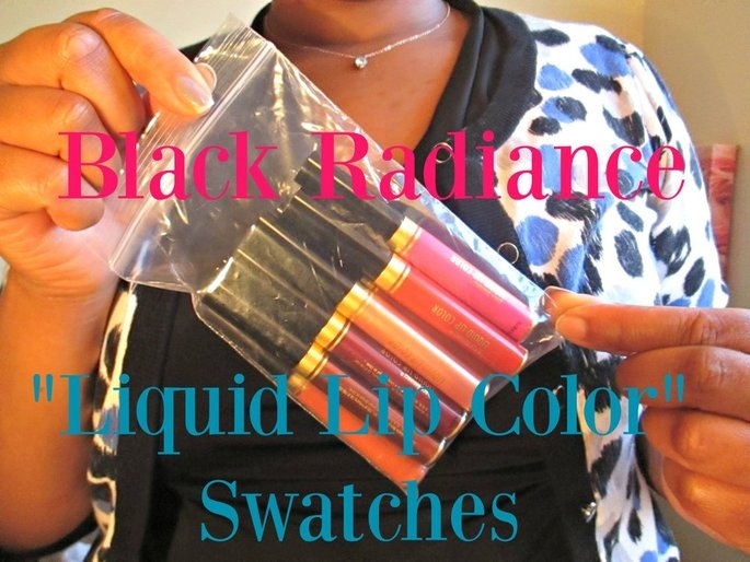 Black Radiance Liquid Lip Color uploaded by Queen Esther S.