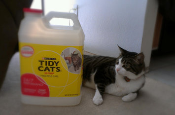 Photo of Tidy Cats Scoop 24/7 Performance Cat Litter uploaded by Joan G.