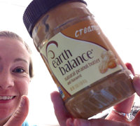 Earth Balance Natural Peanut Butter and Flaxseed Creamy uploaded by Allie S.